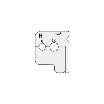 デンサン/ジェフコム ワイヤーストリッパー替刃 DIV-814KP 管理コード:742