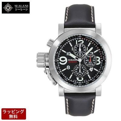 シーレーン 腕時計 SEALANE SEA LANE メンズ クオーツ SE44-LBK