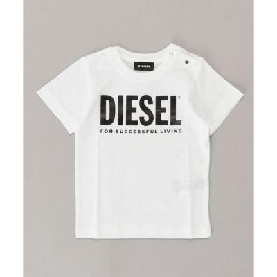 tシャツ Tシャツ DIESEL KID ベビー Tシャツ ロゴプリント