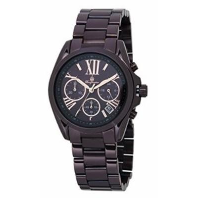 [ブルゲルマイスター] Burgmeister 腕時計 Womens  Quartz and Stainless-Steel-Plated Casual Watch, Color:Brown 日本製クォーツ BM337