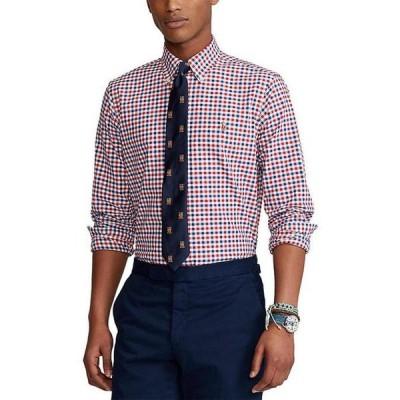 ラルフローレン メンズ シャツ トップス Big & Tall Cotton Oxford Long-Sleeve Woven Shirt