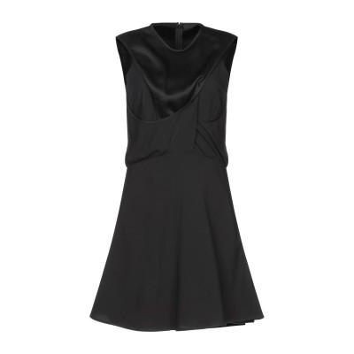 VERSUS VERSACE ミニワンピース&ドレス ブラック 40 アセテート 70% / レーヨン 30% ミニワンピース&ドレス