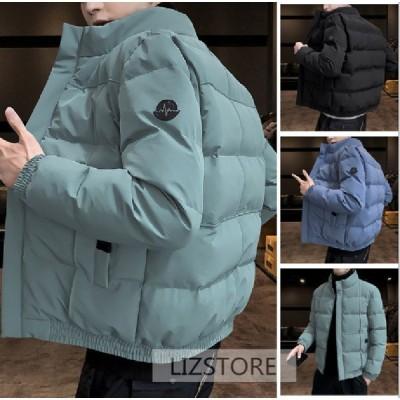 中綿ジャケット メンズ ダウンジャケット冬 キルティングジャケット 厚手 アウトドア 防寒着 保温 通勤 通学 防風