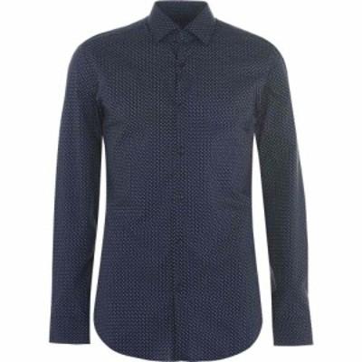 ヒューゴ ボス Hugo メンズ シャツ トップス boss kenno shirt Light Blue