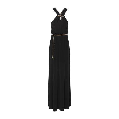 MARCIANO ロングワンピース&ドレス ブラック 42 ポリエステル 96% / ポリウレタン 4% ロングワンピース&ドレス