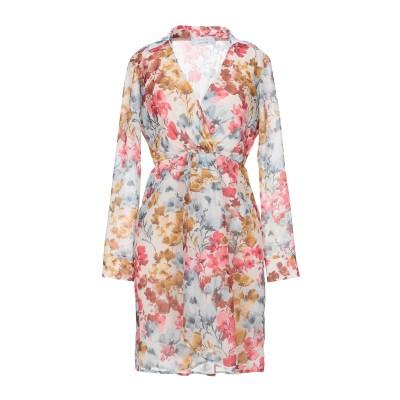 カオス KAOS ミニワンピース&ドレス アイボリー 40 ポリエステル 100% ミニワンピース&ドレス
