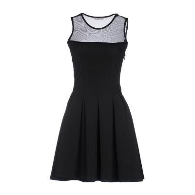 MAISON ESPIN ミニワンピース&ドレス ブラック M ポリエステル 95% / ポリウレタン 5% ミニワンピース&ドレス