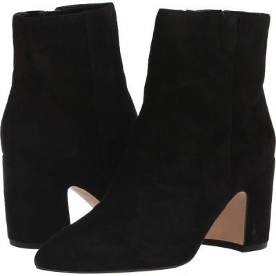 サム エデルマン Sam Edelman レディース ブーツ シューズ・靴 Hilty Black Suede Leather