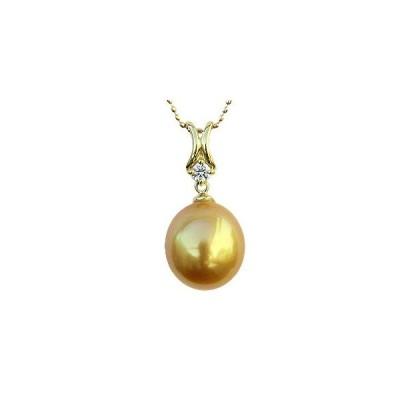 真珠 パール ネックレス ペンダントトップ K18 ゴールド ダイヤモンド 冠婚葬祭