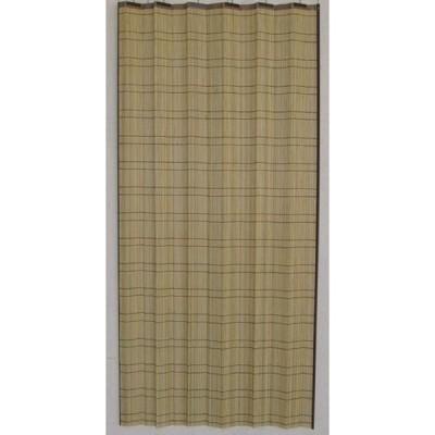 竹皮スダレカーテン2枚組 約W100×H170?