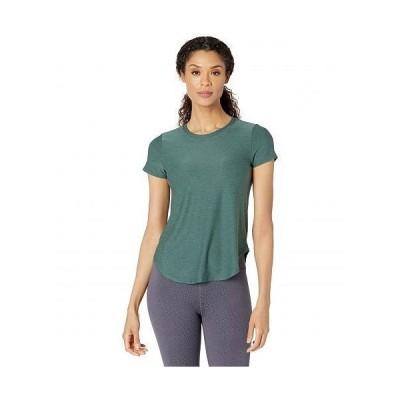 Beyond Yoga ビヨンドヨガ レディース 女性用 ファッション アクティブシャツ Lightweight Space Dye On The Down Low T-Shirt - Green Ivy