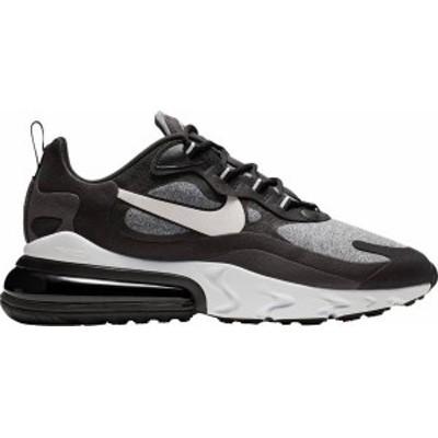 ナイキ メンズ エアマックス270 Nike Air Max 270 React スニーカー Black/Vast Grey/Off Noir