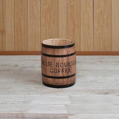 国産ヒノキ材 樽 小サイズ ブラウン(送料無料)(オブジェ、インテリア雑貨、玄関収納)