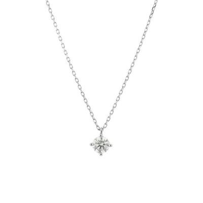 ネックレス レディース プラチナ ダイヤモンド 0.25カラット <鑑別カード・スコープ付> ブルーム 母の日 ギフト プレゼント 普段使い