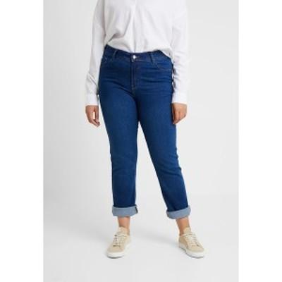 エヴァンス レディース デニムパンツ ボトムス Straight leg jeans - mid wash mid wash