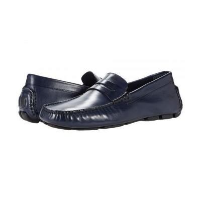 J&M Collection メンズ 男性用 シューズ 靴 ローファー Dayton Penny Loafer - Navy
