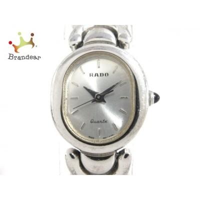 ラドー RADO 腕時計 205.9508.2 訳あり レディース シルバー 値下げ 20201113