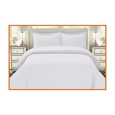 送料無料 NJSR 600スレッドカウント 100%コットン ベストホテルラグジュアリー寝具 布団カバー3点セット