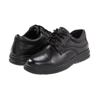 Hush Puppies ハッシュパピーズ メンズ 男性用 シューズ 靴 オックスフォード 紳士靴 通勤靴 Glen - Black Leather