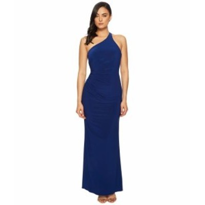 Adrianna Papell アドリアナパぺル ドレス 一般 One Shoulder Stretch Jersey Gown