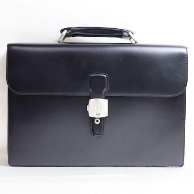 ダンヒル dunhill ビジネスバッグブリーフケース LW6010A ブラック 中古 美品 質屋出店 あすつく
