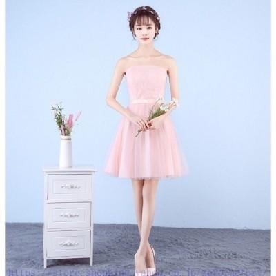 ウエディングドレスフォーマルドレス優雅上品女の子卒業式七五三結婚式発表会パーティー入園式膝丈ドレス