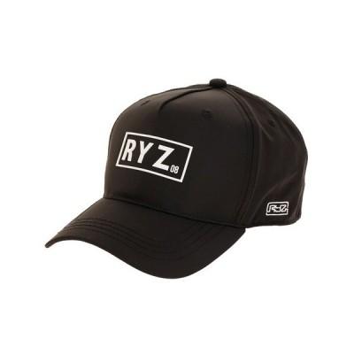 ライズ(RYZ) PVC ロゴ キャップ 897R0ST6161 BLK (メンズ)