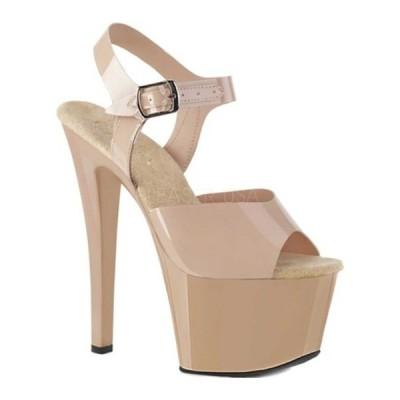 プリーザー サンダル シューズ レディース Sky 308N Heeled Sandal (Women's) Cream Jelly TPU/Cream