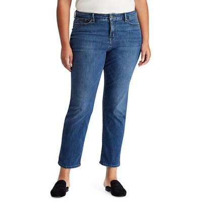 ラルフローレン レディース デニムパンツ ボトムス Plus Size Slim Jeans