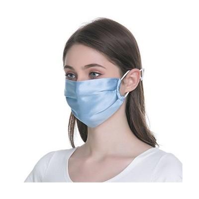 Saturday マスク シルク100 美肌マスク 保湿 お休みマスク 運転 UV カット 日焼け止め 防塵 花粉症マスク ひんやり おしゃれ 男女兼