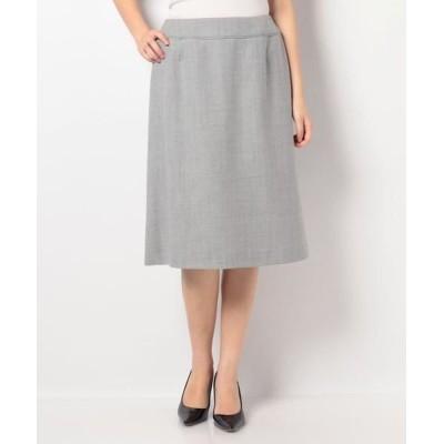 LAPINE BLANCHE/ラピーヌ ブランシュ スーパーサキソニー スカート グレーA 38