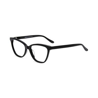 海外限定 Firmoo Blue Light Blocking Glasses, Anti Glare Computer Glasses, Black Womens Cateye Glasses Frames