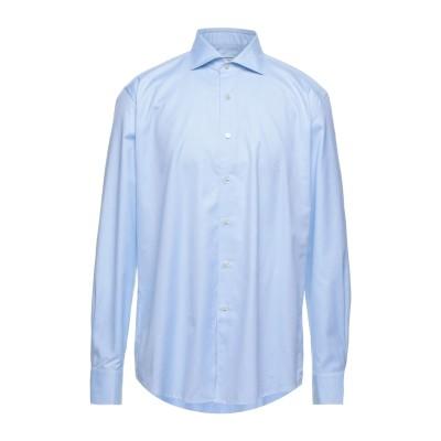 XACUS シャツ アジュールブルー 44 コットン 100% シャツ