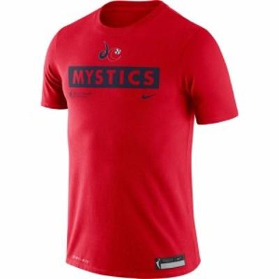 ナイキ Nike メンズ Tシャツ トップス Adult Washington Mystics Practice Logo T-Shirt