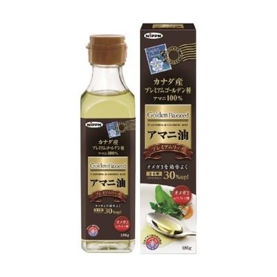 【まとめ買い×6個セット】日本製粉 ニップン アマニ油 プレミアムリッチ 186g