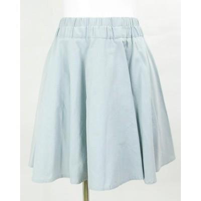 ミューズデドゥーズィーエムクラス MUSE 水色 スカート36