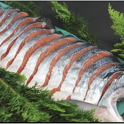 銀毛鮭の半身切身 A-57014
