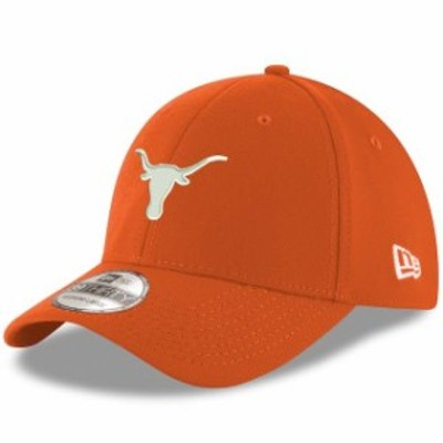New Era ニュー エラ スポーツ用品  New Era Texas Longhorns Texas Orange Basic 39THIRTY Flex Hat
