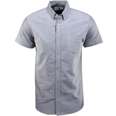 BAIT メンズ 半袖シャツ トップス Oxford Short Sleeve Shirt gray