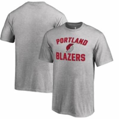 Fanatics Branded ファナティクス ブランド スポーツ用品  Fanatics Branded Portland Trail Blazers Youth Heathered Gray Victory Arch