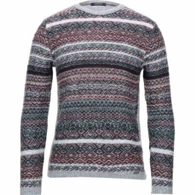 マークアップ MARKUP メンズ ニット・セーター トップス sweater Maroon