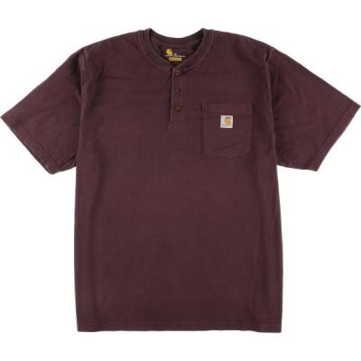 Carhartt ワンポイントロゴポケットTシャツ メンズXL /eaa049944