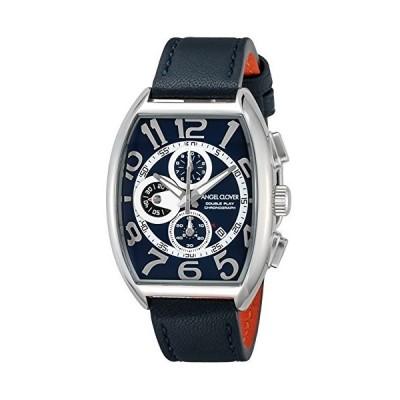 [エンジェルクローバー] 腕時計 ダブルプレイ アーバンブルー・コレクション ネイビー文字盤 カーフ革ベルト クロノグラフ DP38SNVNV ブルー