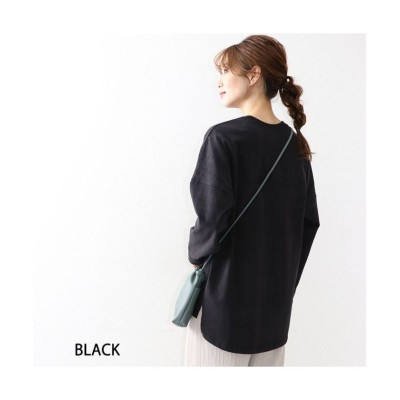 【オウンコード】 ヘビーウエイトコットンピーチTシャツ レディース ブラック M OWNCODE