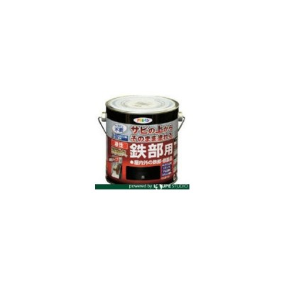 建物用塗料 油性 アサヒペン 油性高耐久鉄部用0.7L黒 [526410] 526410 販売単位:1