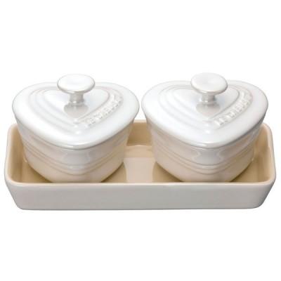 蓋付小鉢 料理道具 / プチ・ラムカンダムール・セット 910223-00 ホワイトラスター