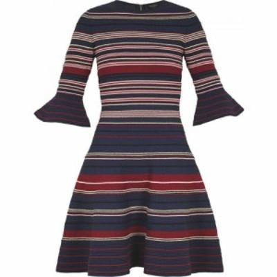 テッドベーカー Ted Baker レディース ワンピース ワンピース・ドレス Stripe Ottoman Dress Dark Blue