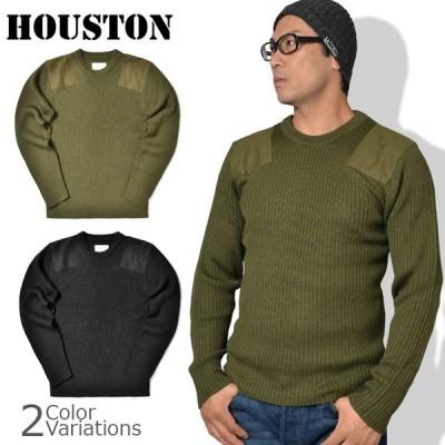 HOUSTON(ヒューストン) COMMAND SWEATER コマンド セーター クルーネック 2160