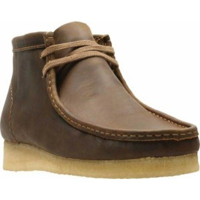 クラークス メンズ ブーツ・レインブーツ シューズ Men's Clarks Wallabee Boot Beeswax Leather 2
