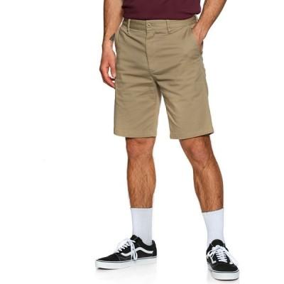 ディーシー DC メンズ チノパン ボトムス・パンツ worker chino shorts Khaki